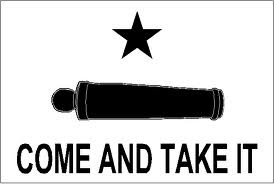 """""""Come and Take It"""" Flag from Revolutionary War"""