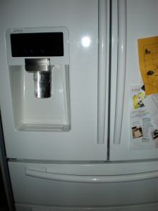A refrigerator that thinks it's smarter than me